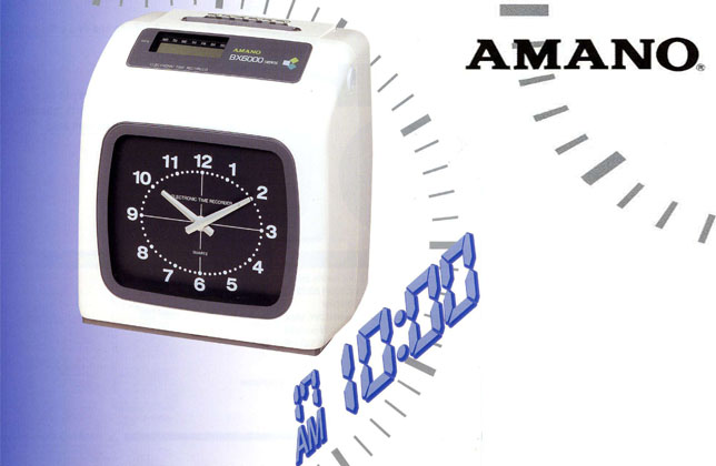 BX6000 Electronic Time Recorder