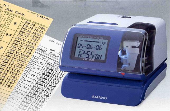 PIX-200 Electronic Time Stamp